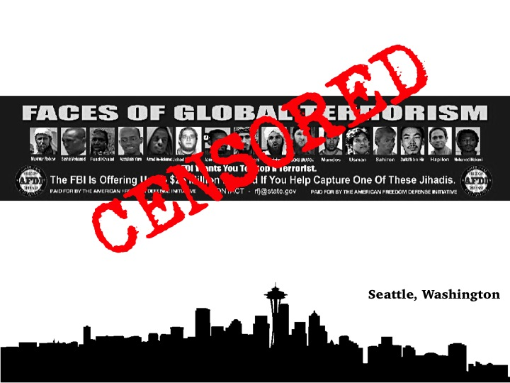 AFLC Files Opening Brief in Ninth Circuit Filed after Federal Court in Seattle Upholds Censorship of Anti-Terrorism Advertisement
