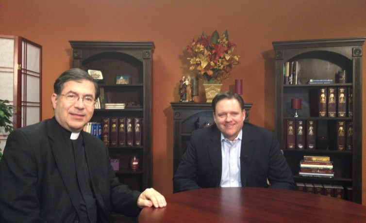 Fr. Frank Pavone and Senior Counsel Robert Muise