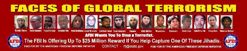AFDI Terrorism Ad