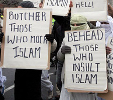 Behead those who insult islam--2