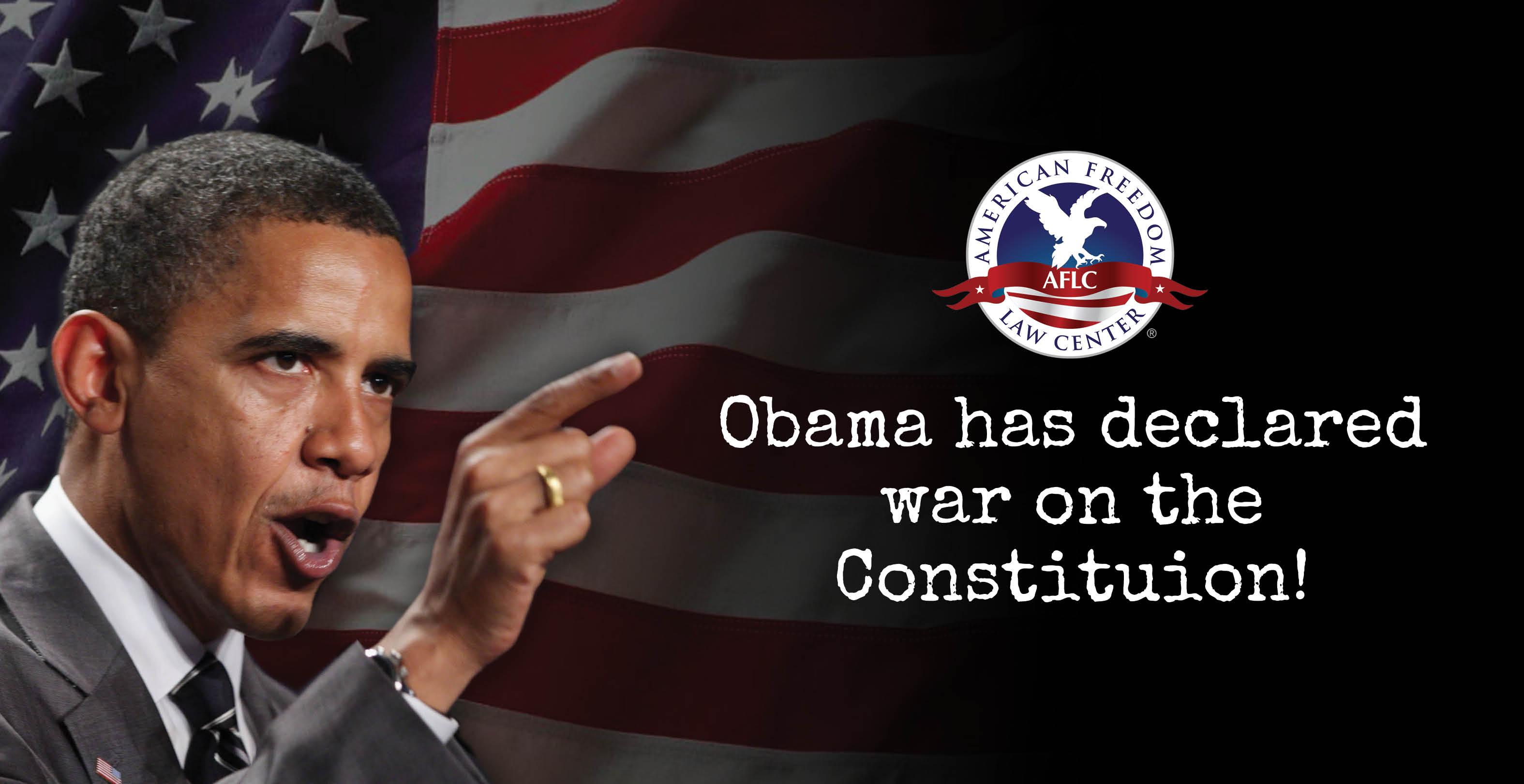 AFLC Sues Obama
