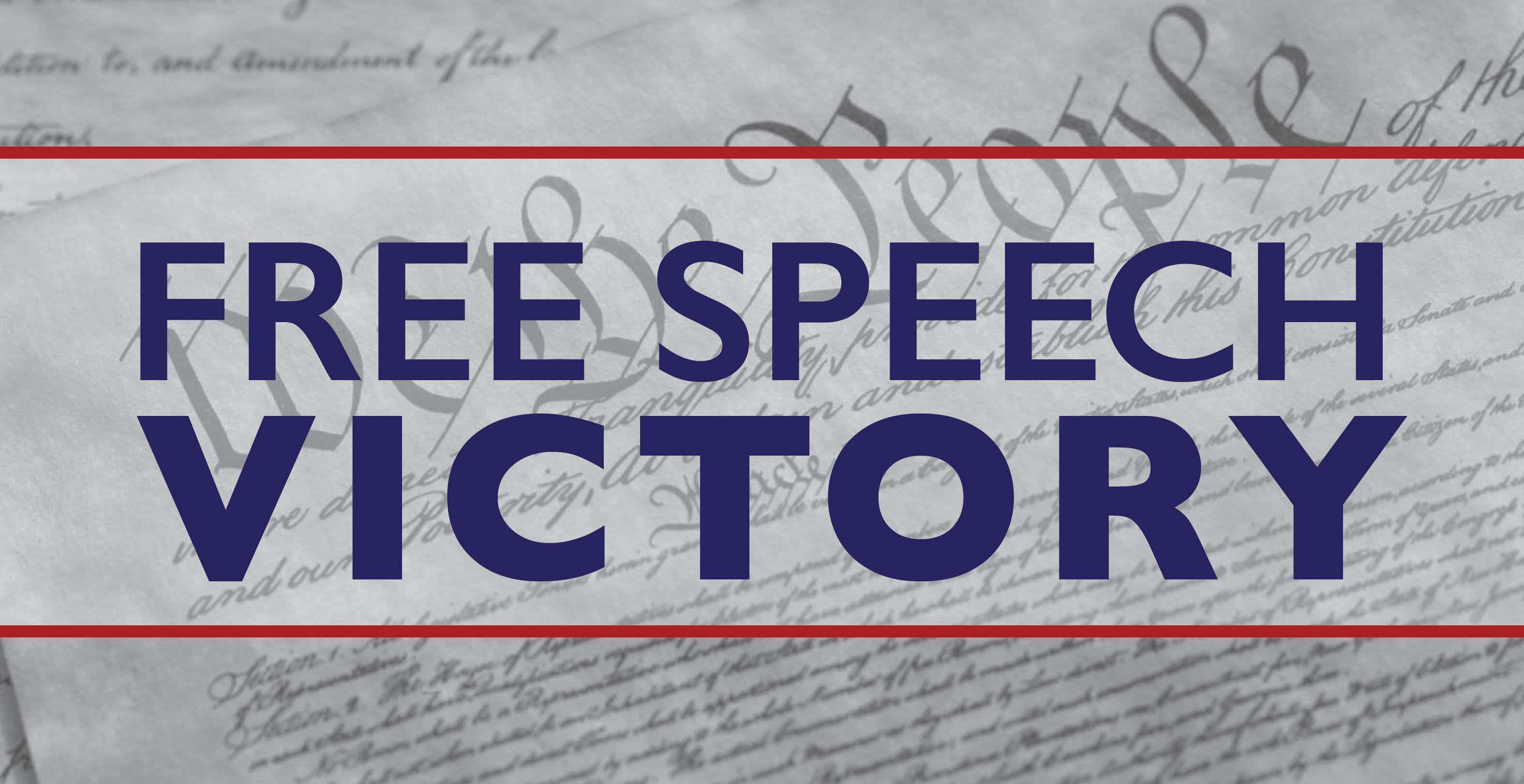 Free Speech Victory for Christians