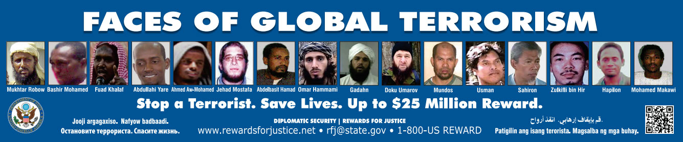 Federal Government--Faces of Terrorism Ad