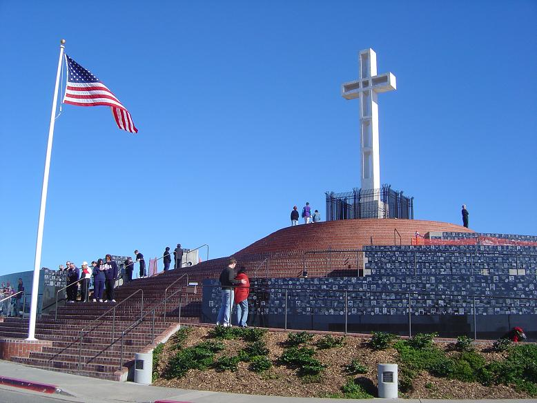 Mt Soledad Veterans Memorial